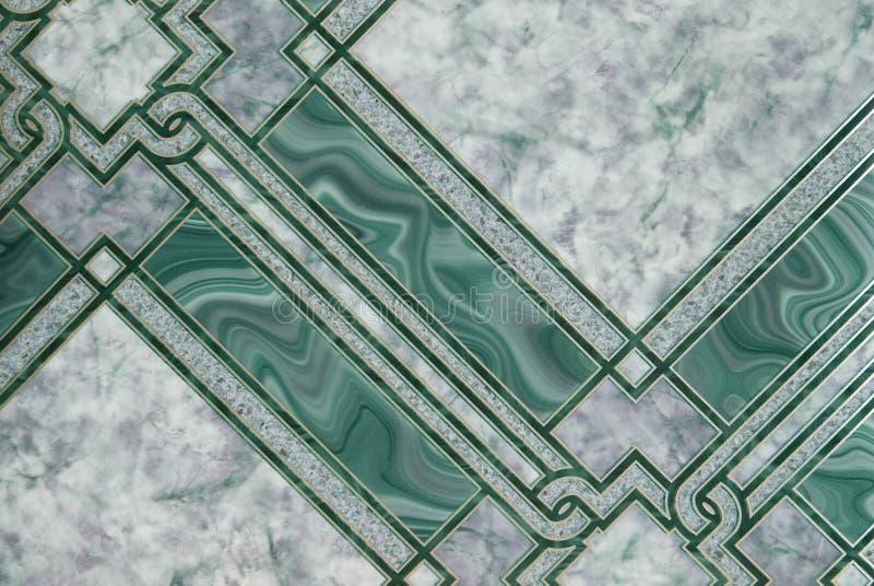 marmuru zielony wzór fotografia royalty free