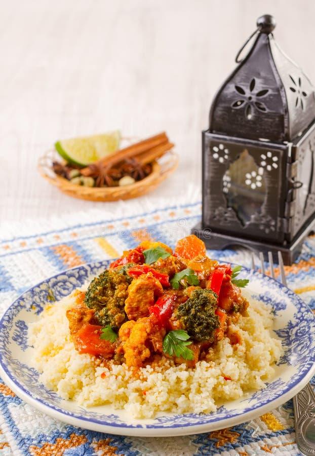 Marocain de couscous photos libres de droits