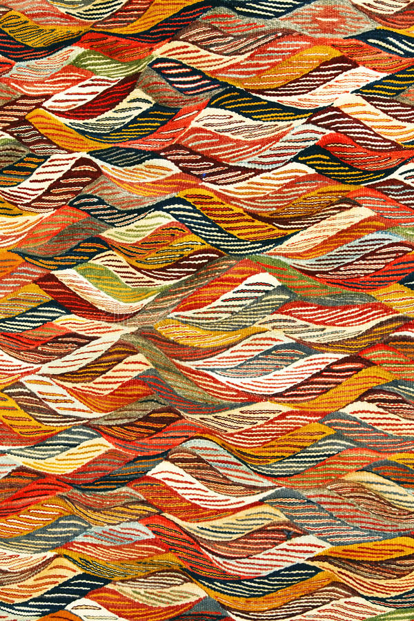 Marocain de tapis photographie stock