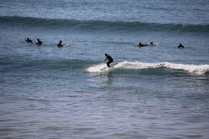 Marocco zimy surfing obraz stock