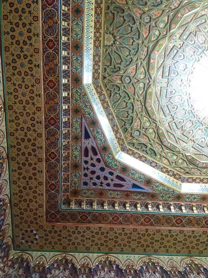 Marockansk arkitektur arkivbild
