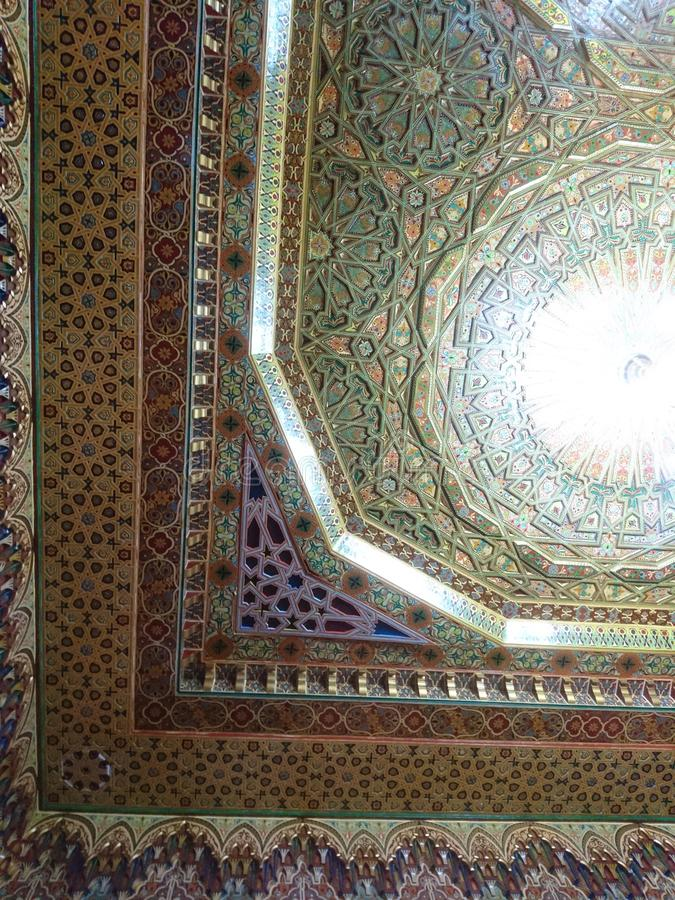 Marockansk arkitektur arkivfoton