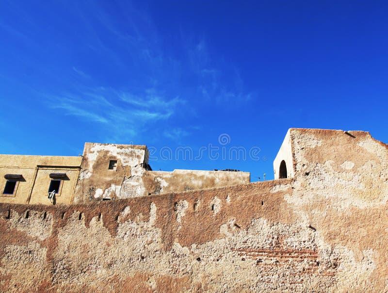 Marockansk arkitektur arkivbilder