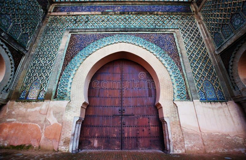 Marockansk dekor arkivbilder