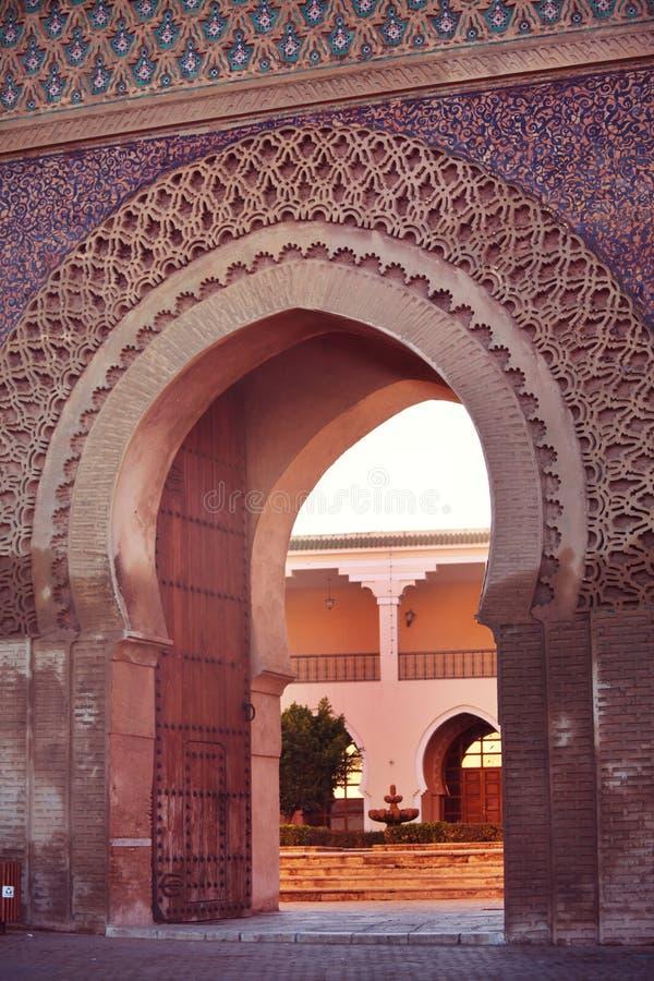 Marockansk dekor arkivbild