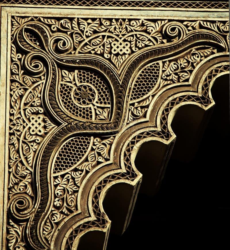 Marockansk dekor arkivfoto