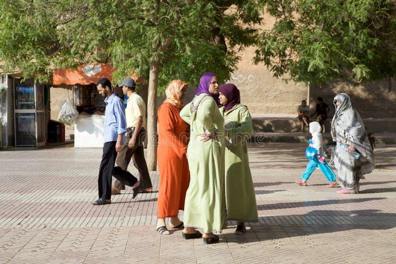 Marockanska kvinnor royaltyfria bilder