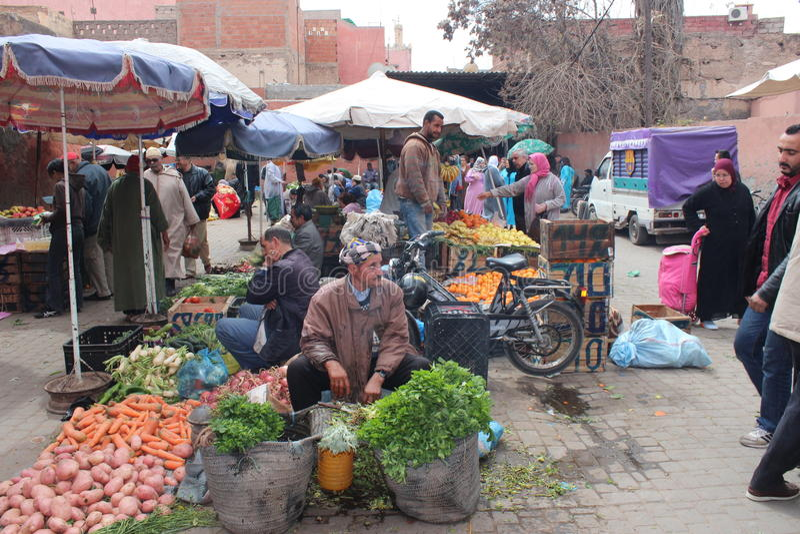 Marocko royaltyfri fotografi