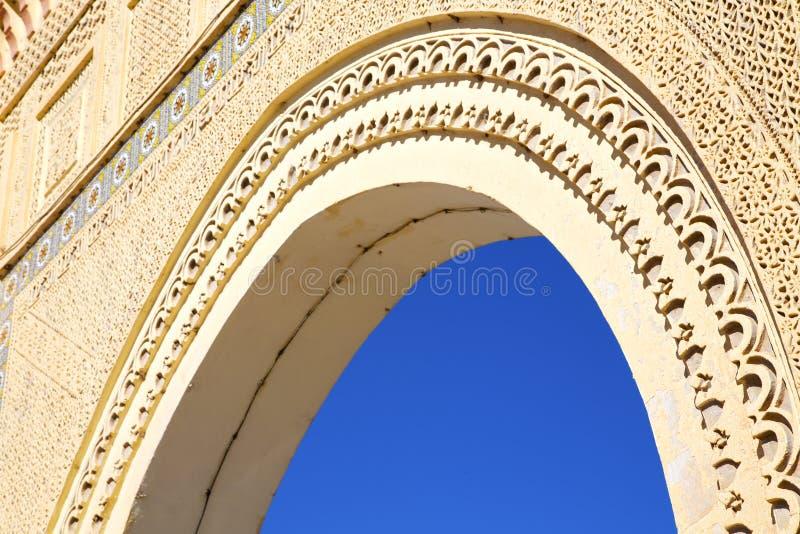 Marocko båge in arkivfoton