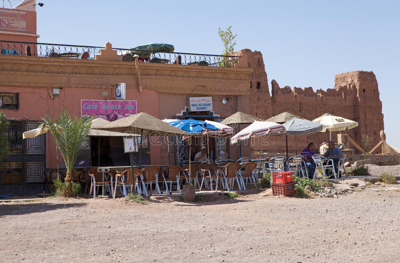 Marocko berberstång royaltyfri foto