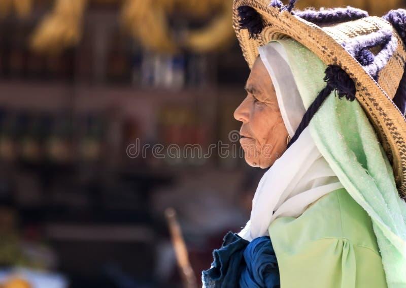 Marocko folk arkivbild