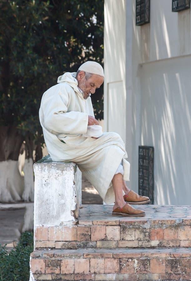 Marocko folk royaltyfria bilder