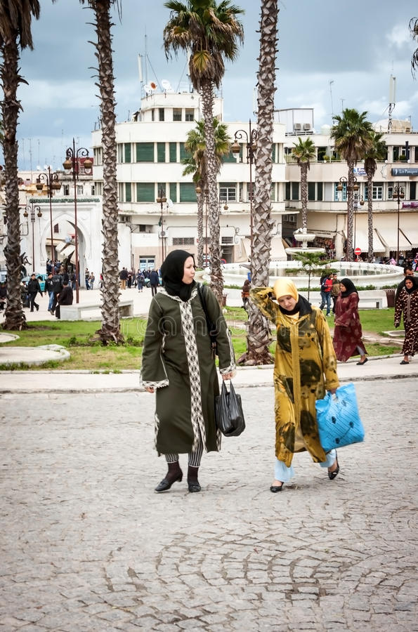 Marocko folk royaltyfria foton