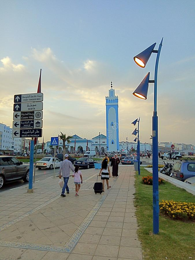 Marocko Tangier arkivfoton