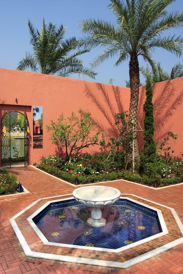 Marokańczyka ogródu styl obraz royalty free