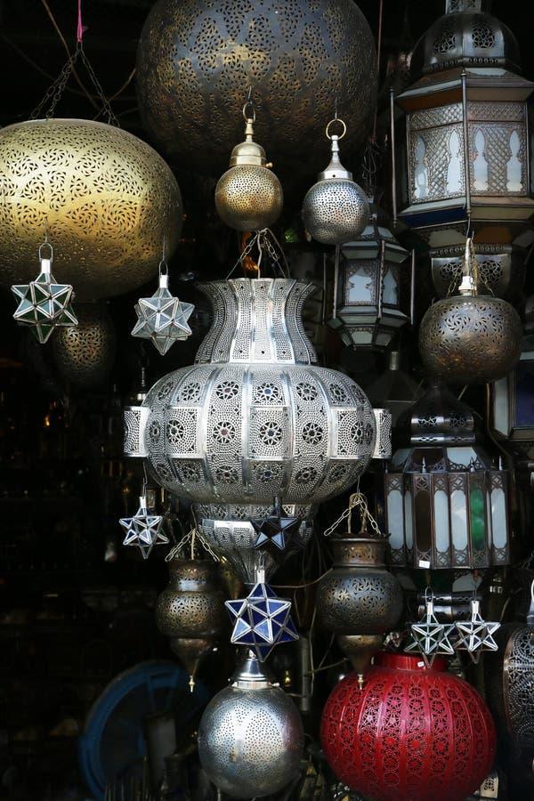 Marokańscy światła obraz stock