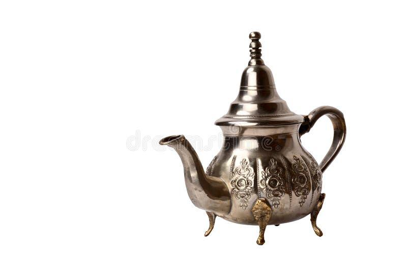 marokańska dzbanek herbaty fotografia stock
