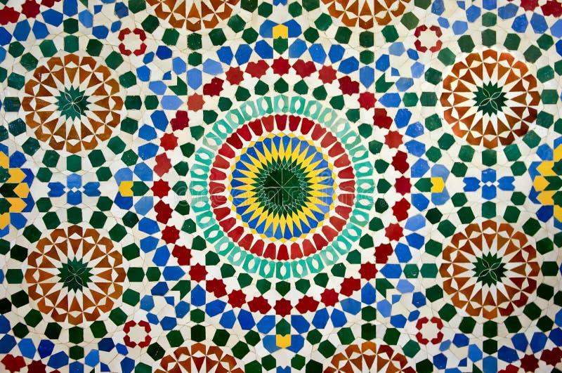 marokańska mozaika zdjęcia royalty free