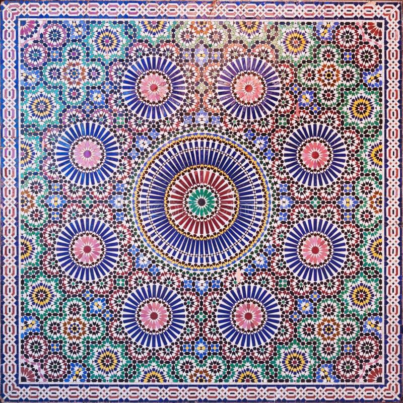 marokańska mozaika obrazy stock