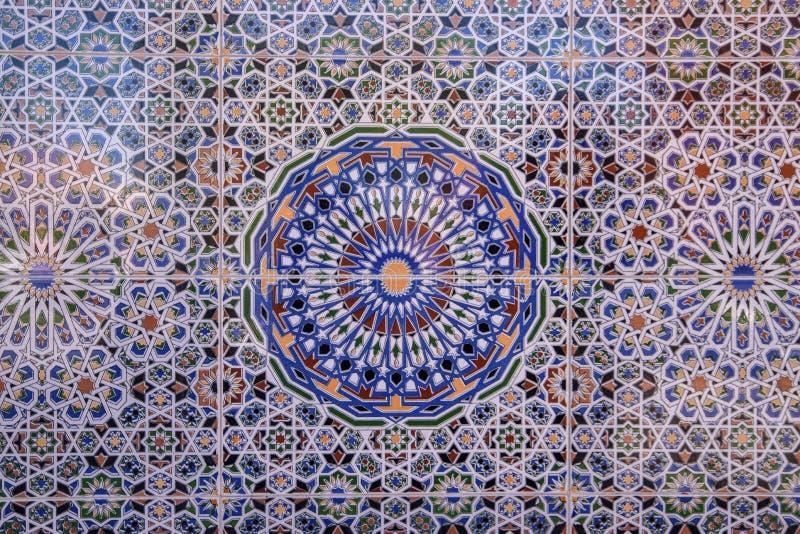 Marokańska mozaika, Marrakesh, Maroko zdjęcia stock