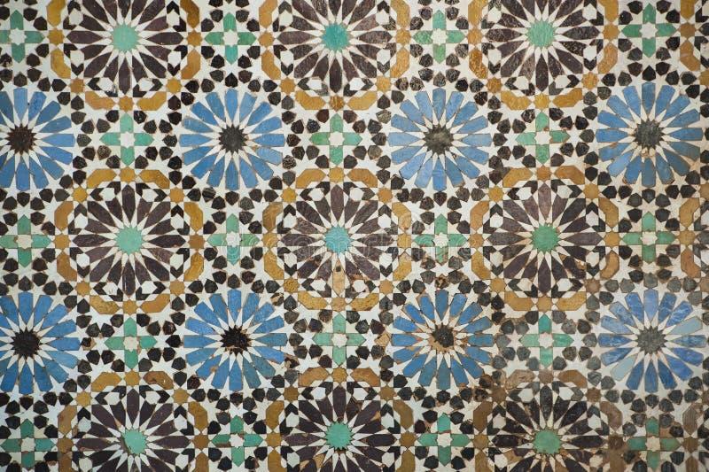 Marokańska tradycyjna mozaika zdjęcia royalty free