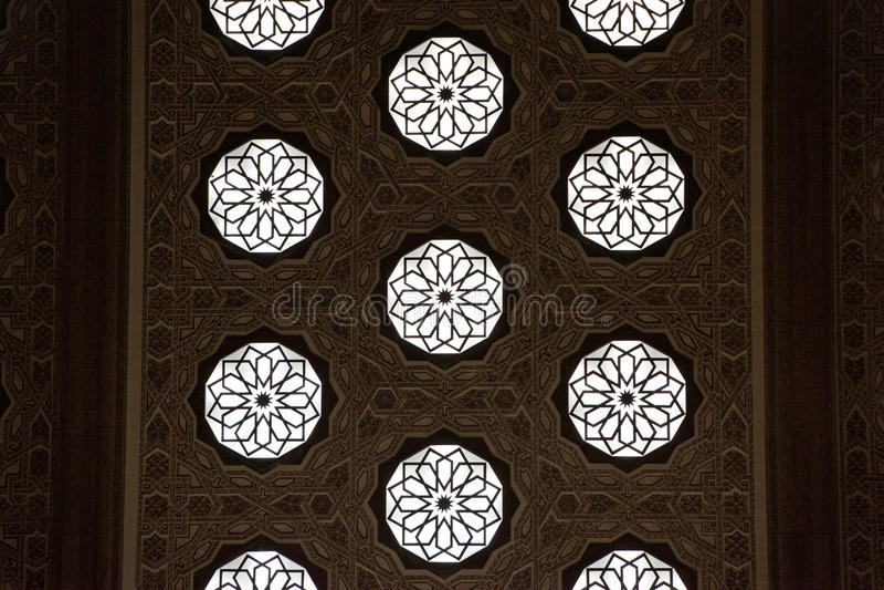 Marokańska tradycyjna mozaika obraz royalty free