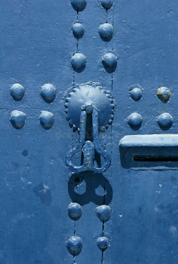 marokański drzwi obraz stock