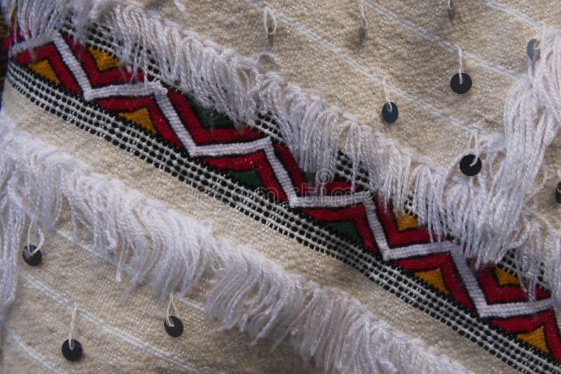 Marokański dywan z tradycyjnym wyglądem Berberów zdjęcie royalty free