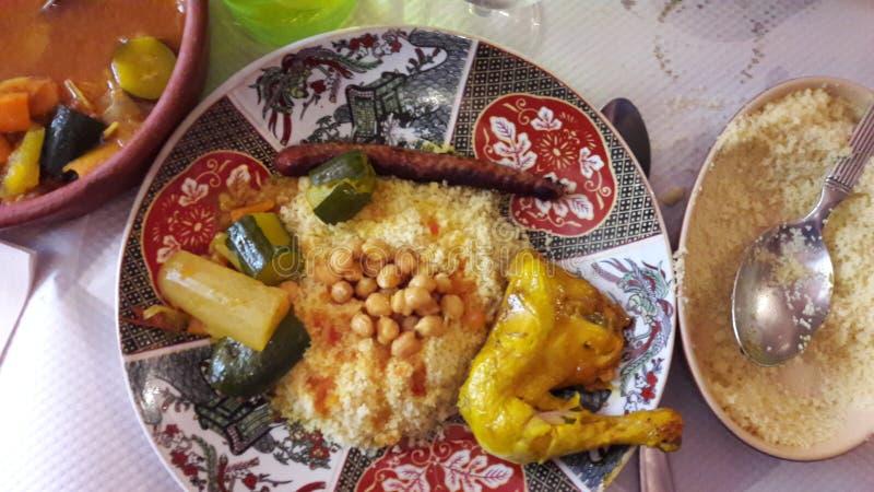 Marokański jedzenie zdjęcie royalty free