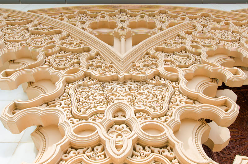 Marokański pawilon w Putrajaya Malezja fotografia stock