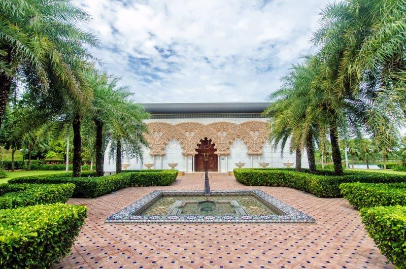 Marokański pawilon w Putrajaya Malezja zdjęcie stock