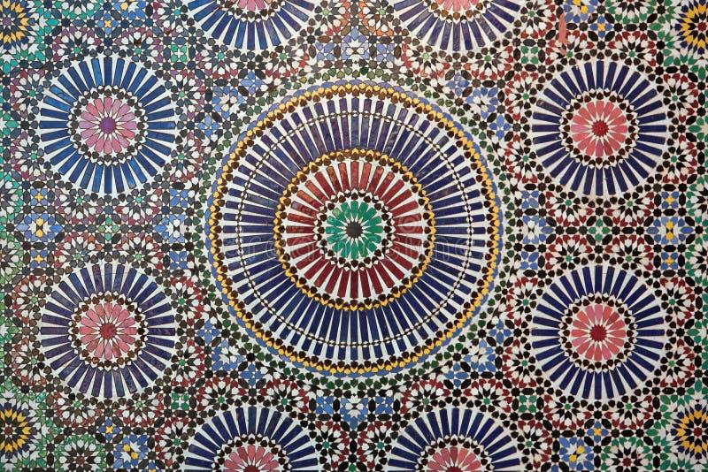 Marokański tilework zdjęcie royalty free