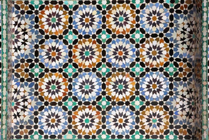 Marokański tilework obrazy stock