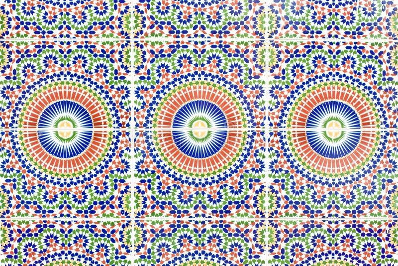 marokańskie płytki zdjęcia stock