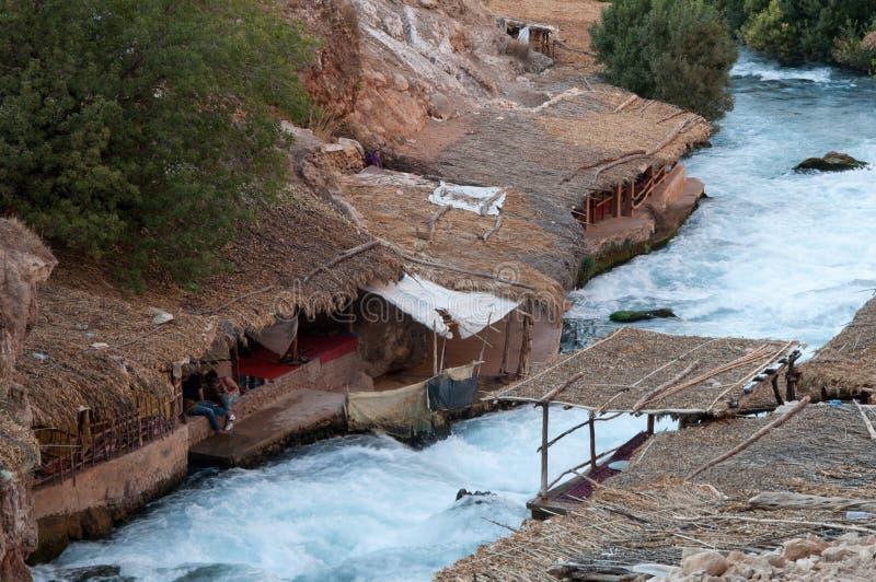 Marokkaans berberdorp stock fotografie
