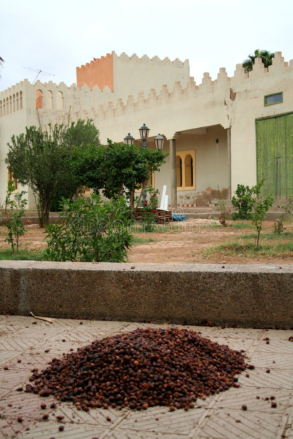 Marokkaans dorp stock fotografie