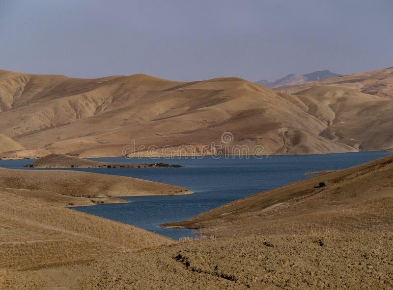 Marokkaans landschap stock foto