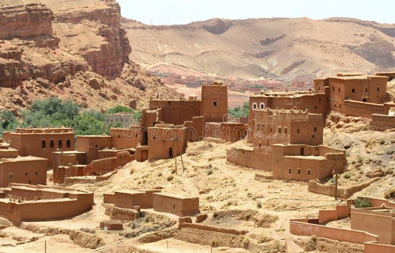 Marokkaans landschap royalty-vrije stock afbeelding