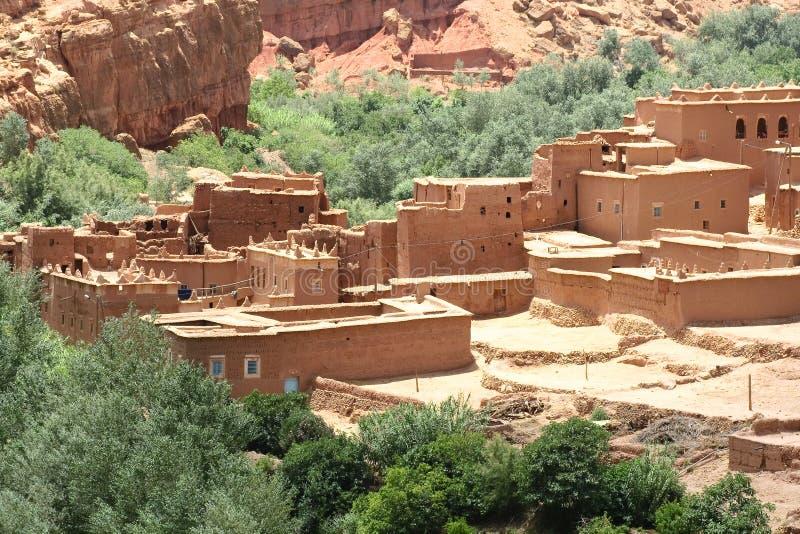 Marokkaans landschap stock fotografie