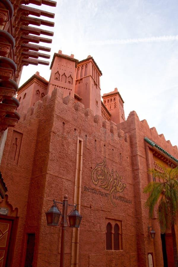 Marokkaans paviljoen epcot stock fotografie