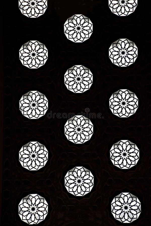 Marokkaans traditioneel vakmanschap stock illustratie