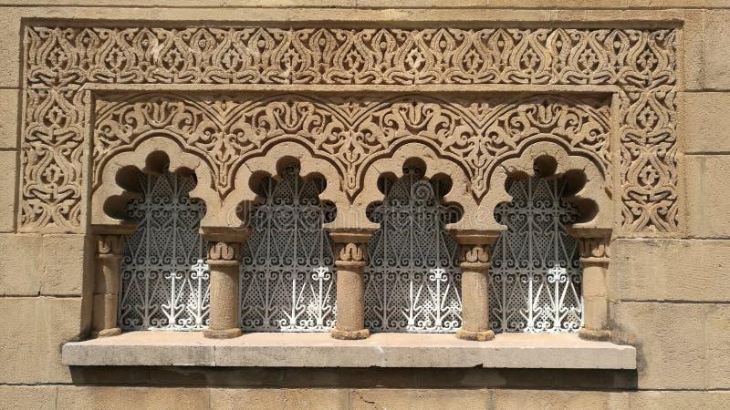 Marokkaans traditioneel venster royalty-vrije stock fotografie