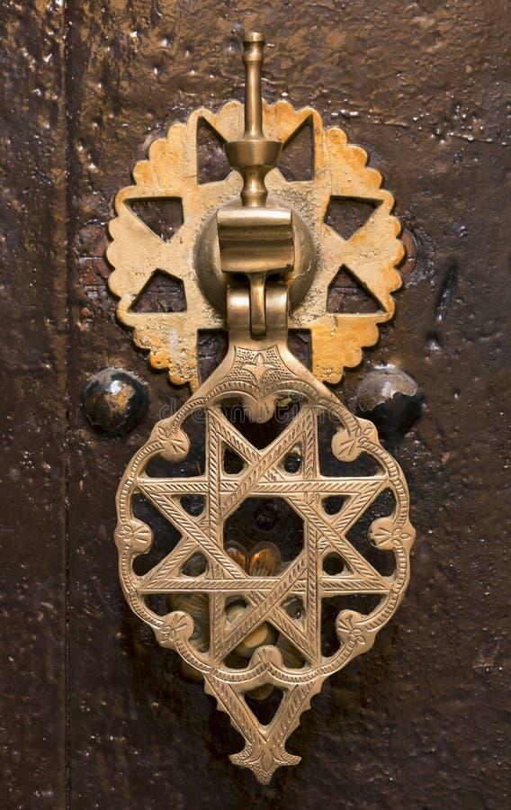 Marokkaanse deurkloppers royalty-vrije stock foto