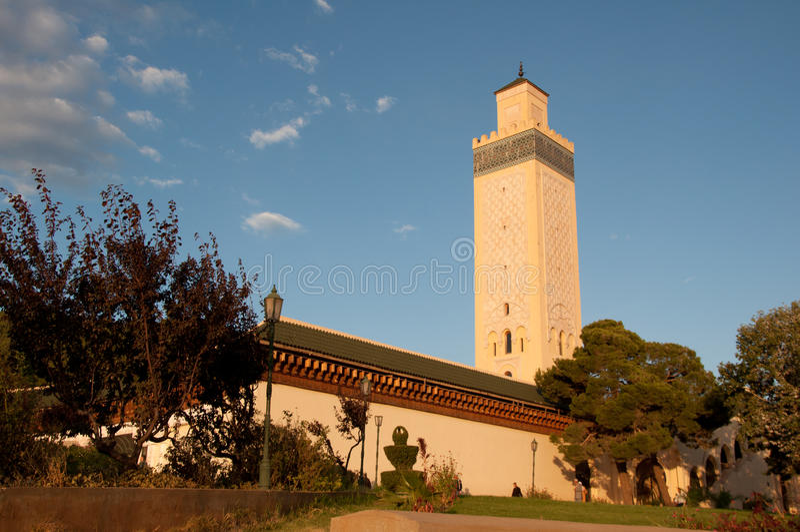 Marokkaanse moskee royalty-vrije stock foto's