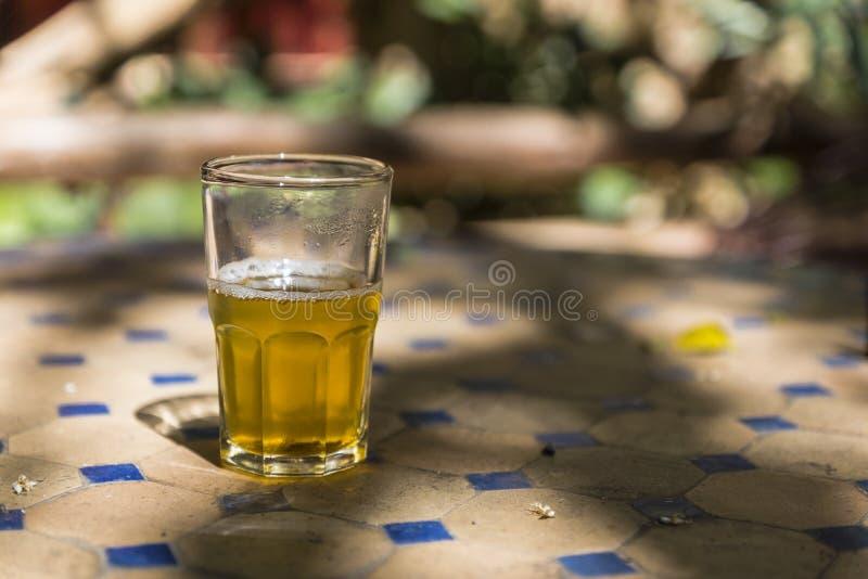 Marokkaanse muntthee stock fotografie