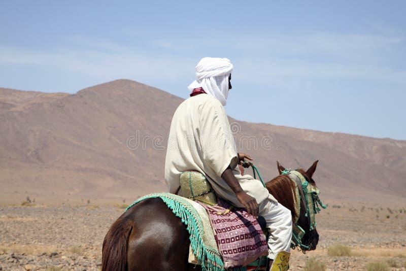 Marokkaanse ruiters royalty-vrije stock foto's