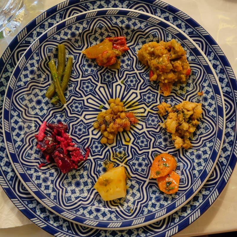 Marokkaanse Salade stock foto