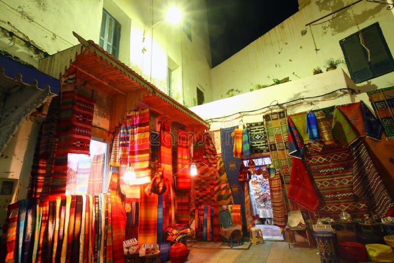 Marokkaanse Tapijten stock foto