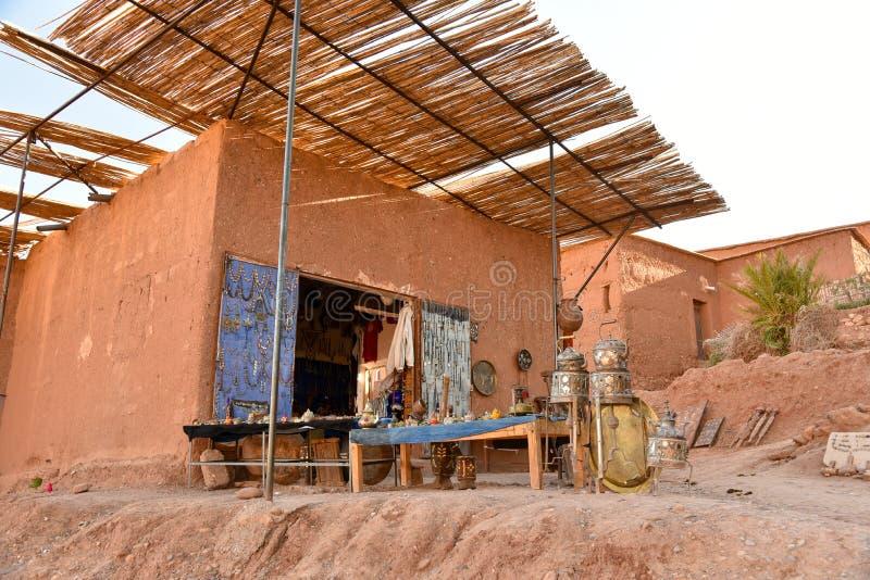 Marokkanische Häuser lizenzfreie stockfotografie