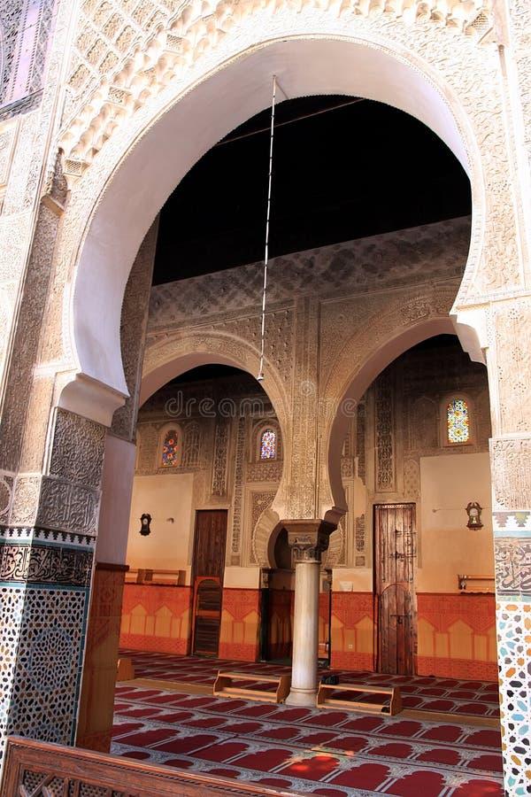 Download Marokkanische Moschee stockfoto. Bild von architektur - 26363904